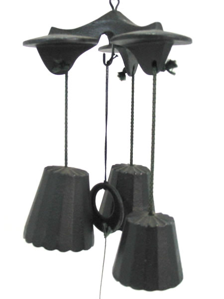 Iron Wind Chimes Iron Wind Chime - Trio 1