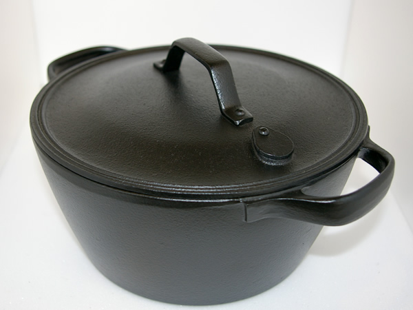 Iron Cookware Boiling Pan 2