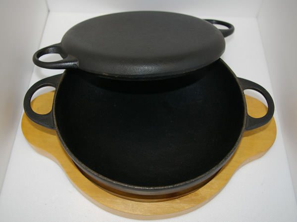 Iron Cookware All-poupose Pan 3 3